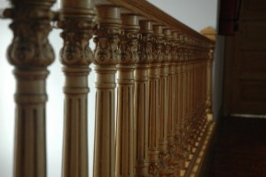 Awesome railing in HQ Villa