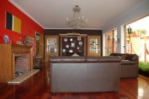 Living room at HQ Villa