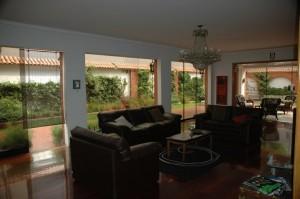 Living room in HQ Villa hostel