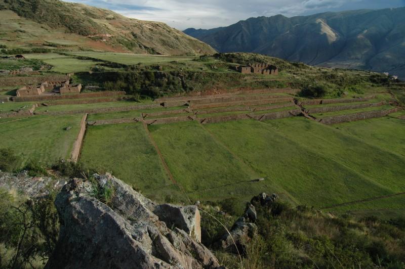 Tipón - chrám vody, Cusco, Peru