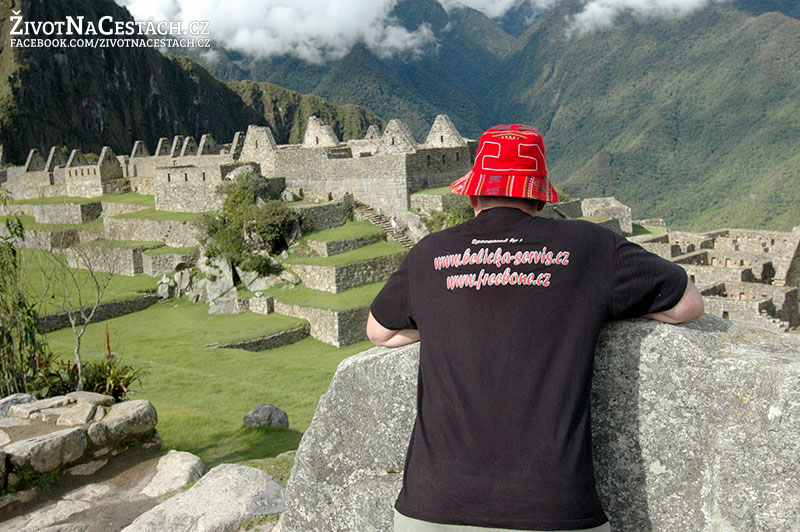 Machu Picchu - poděkování sponzorům Belička servis a společnosti Freebone