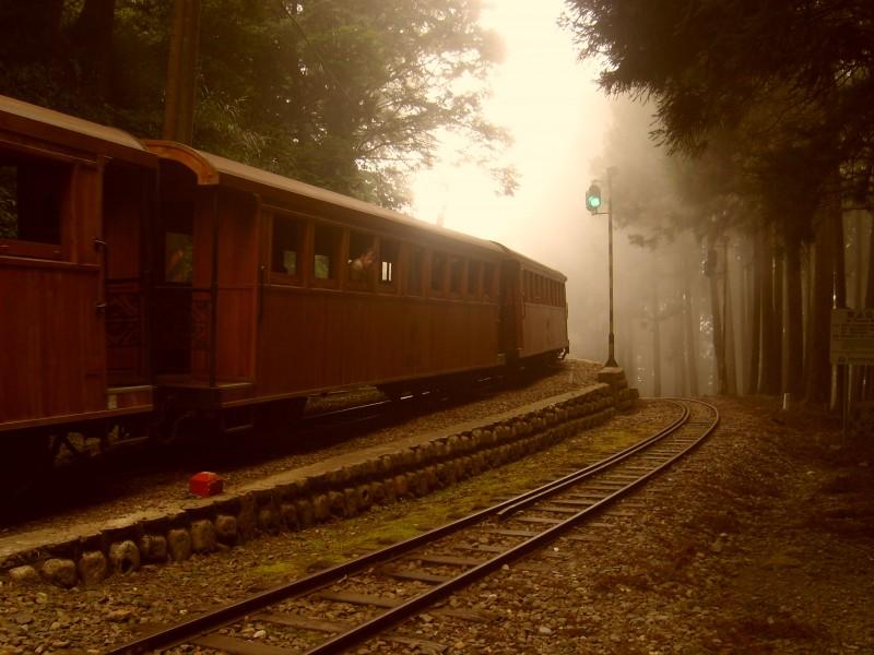 Lesní železnice, Alishan, Taiwan
