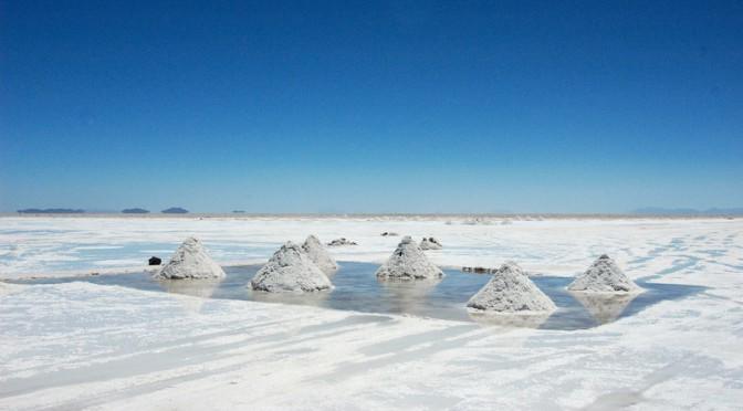 Solné jezero Salar De Uyuni, Bolivia