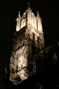 Svatý Bavon, Gent, Belgie