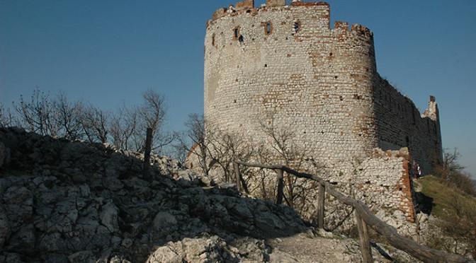 Zřícenina hradu Děvičky, Pálava, Pavlovské vrchy