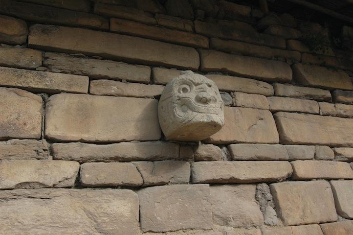 Chavín de Huantar - smějící se božstvo