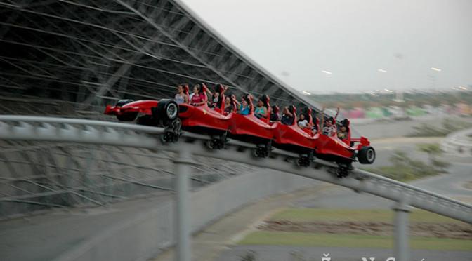 Formula Rossa, Ferrari World, Abú Dhabí, SAE