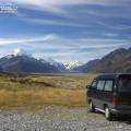 Život na cestách - Mount Cook National Park, Nový Zéland