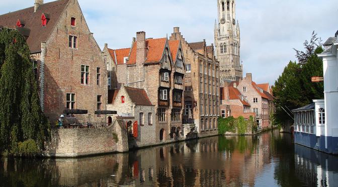 Nejkrásnější město Belgie, Bruggy na vodě