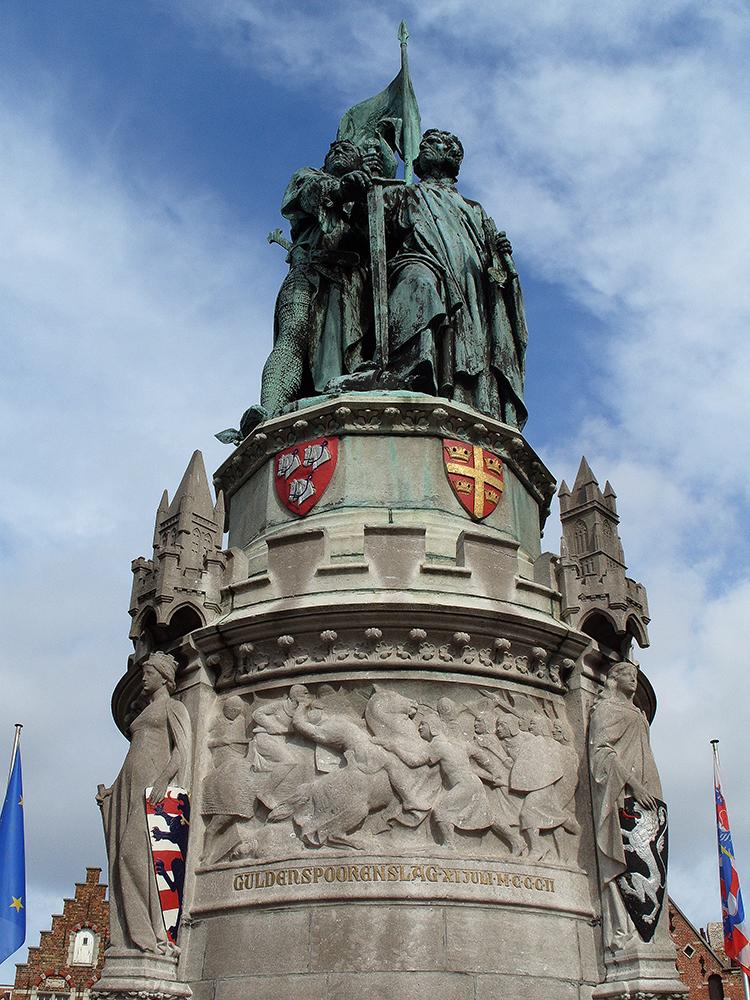 Peter de Coninck a Jan Breydel, Bruggy