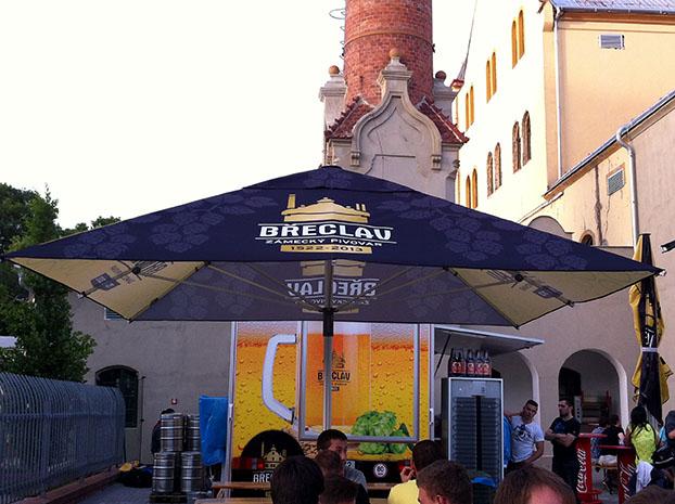 Zámecký pivovar Břeclav - letní zahrádka