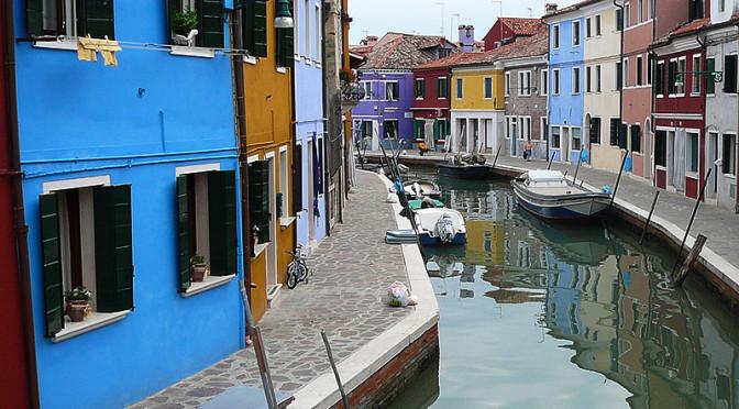 Ostrov Burano, Itálie