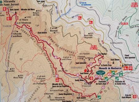 Mapa lanovky