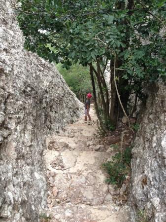 Montserrat - schody