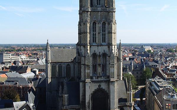 Katedrála svatého Bavona, Gent, Belgie