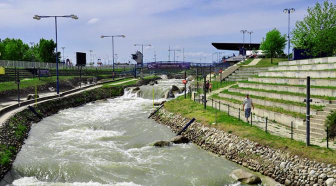 Areál Divoká Voda, vodní dílo Čunovo, Bratislava