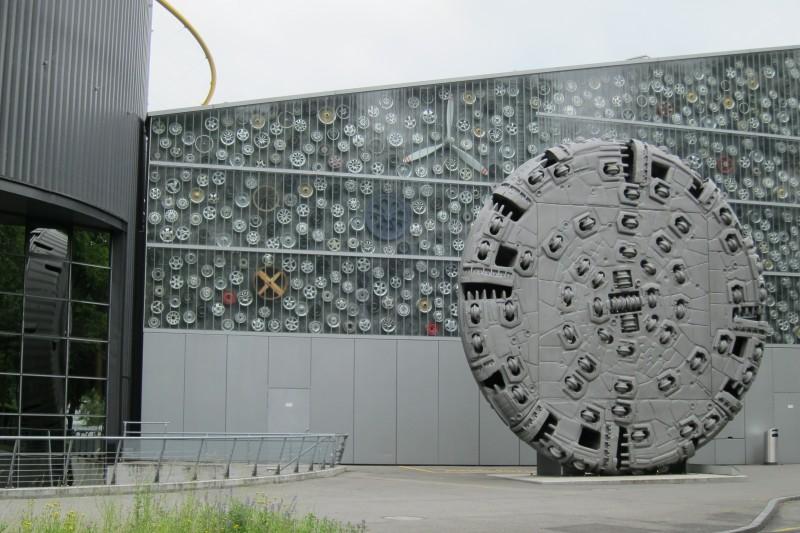 Verkehrshaus Luzern - vstupní budova