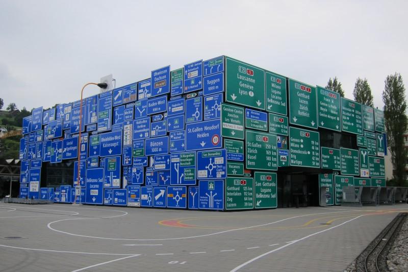Verkehrshaus Luzern - pavilon silniční dopravy