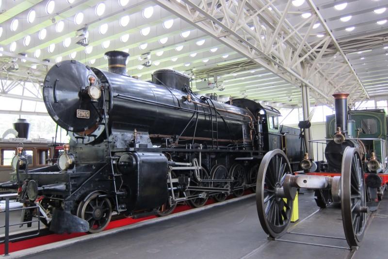Svého času největší parní lokomotiva Švýcarska - Elefant