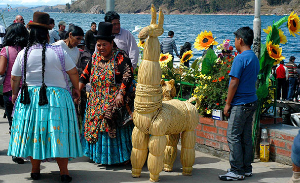 Jezero Titicaca, Bolívie