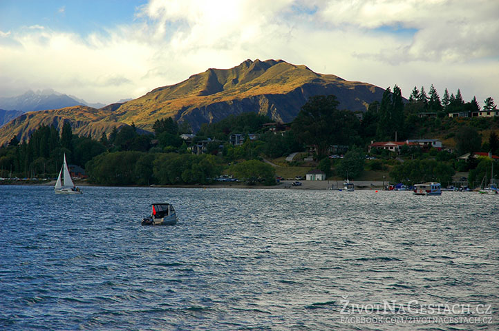 Jezero ve Wanaka, Nový Zéland