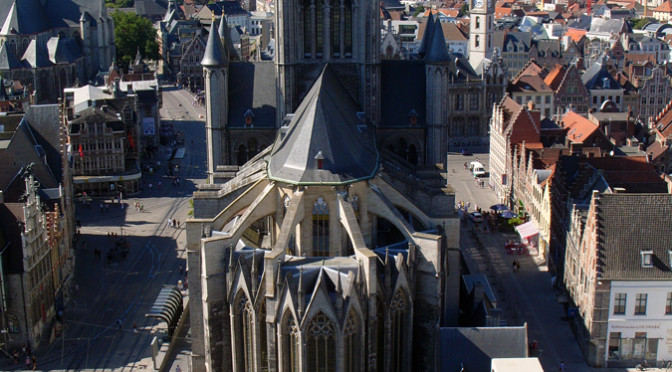 Kostel svatého Mikuláše, Gent, Belgie