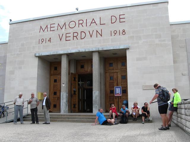 Vstup do muzea Verdun