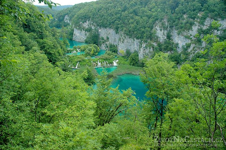 Národní park Plitvická jezera, Chorvatsko