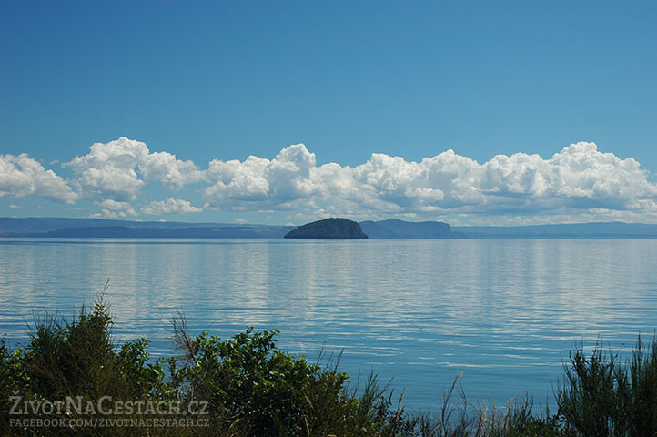 Taupo Lake, Nový Zéland