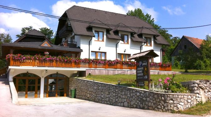 Guest House Plitvička – ubytování v národním parku Plitvická jezera, Chorvatsko