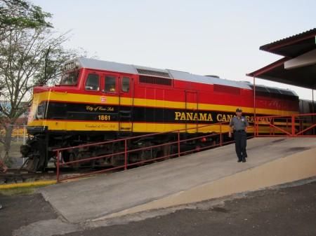 Vlak společnosti Panama Canal Railway Company