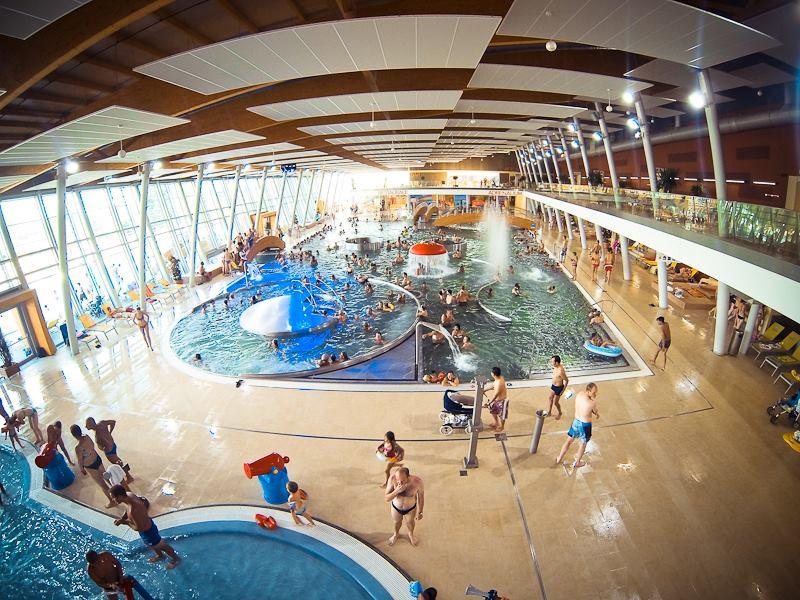 Aqualand Moravia - vnitřní prostory