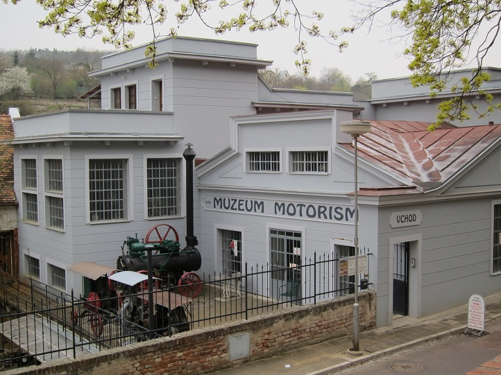 Znojmo - muzeum motorismu