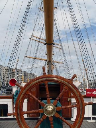 Loď Mercator, Oostende, Belgie
