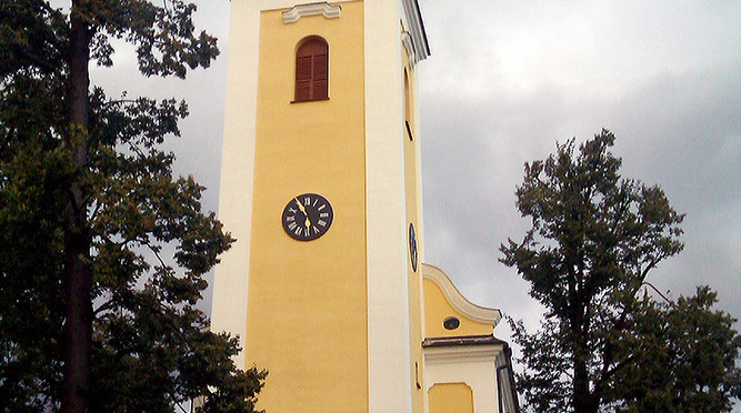 Kostel Narození Panny Marie, Nový Malín, Česká republika