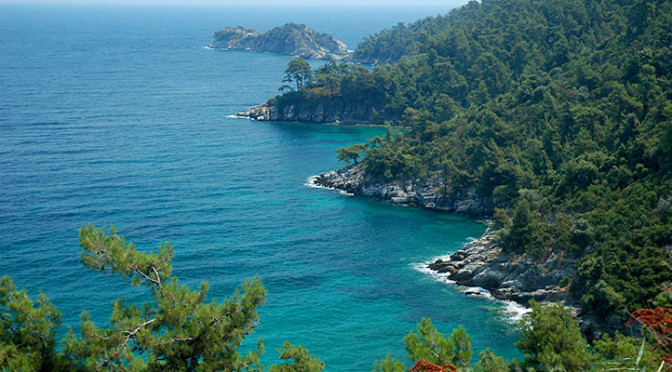 Ostrov Thassos – zelený smaragd v Egejském moři, Řecko