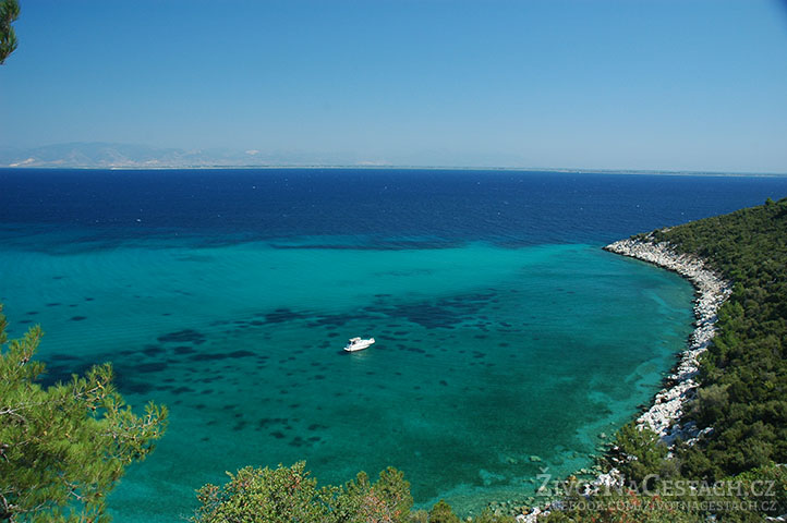 Ostrov Thassos, Řecko