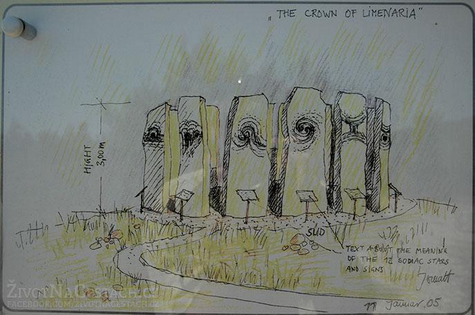 The Crown of Limenaria - původní nákresy stavitelů