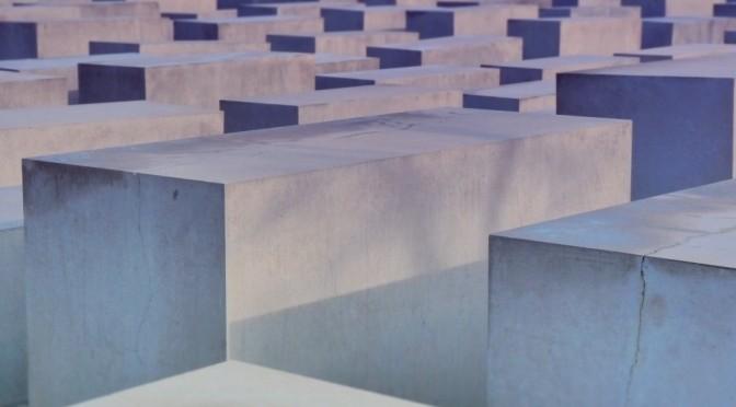 Památník židovských obětí – Berlín, Německo