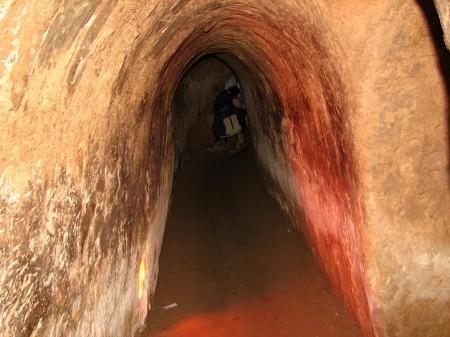 Tunel upravený pro turisty