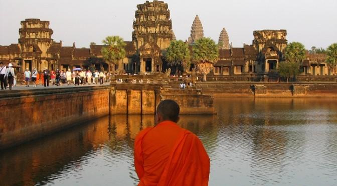 Oblast Angkor a největší náboženský komplex na světě, Kambodža