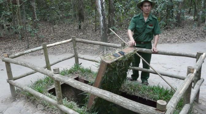 Systém tunelů Cu Chi ve Vietnamu