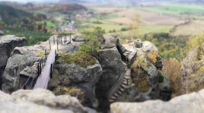 Drábské světničky, zřícenina skalního hradu v Českém ráji