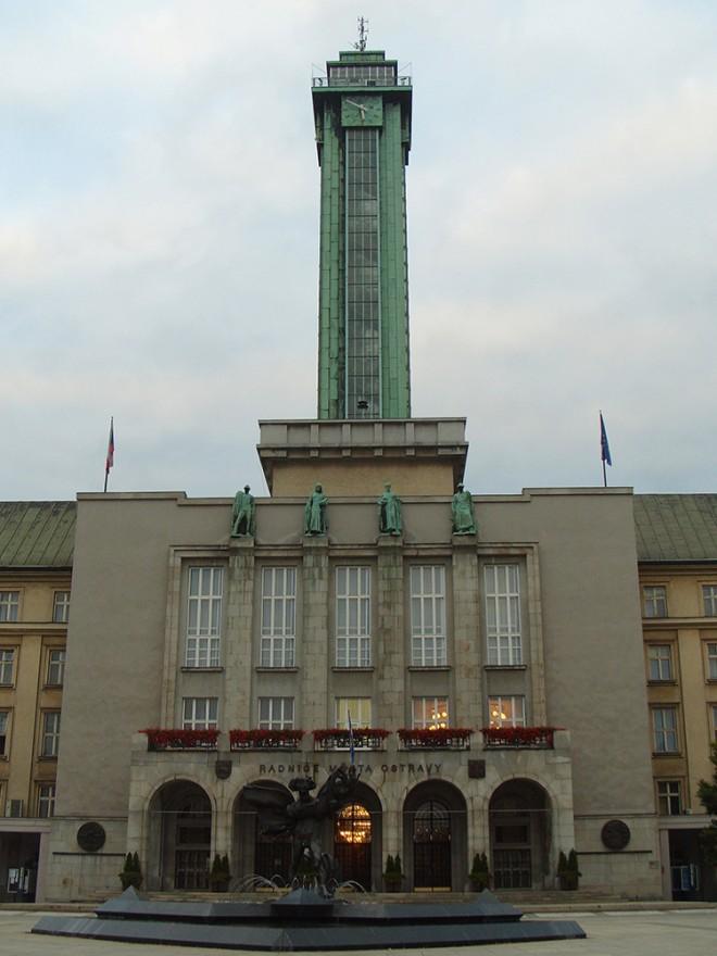 Vyhlídková věž Nové radnice, Ostrava, Česká republika #Cestování