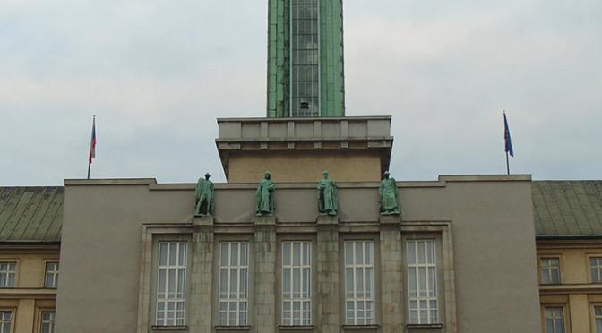 Vyhlídková věž Nové radnice, Ostrava, Česká republika