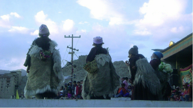 Tradiční ladacký tanec