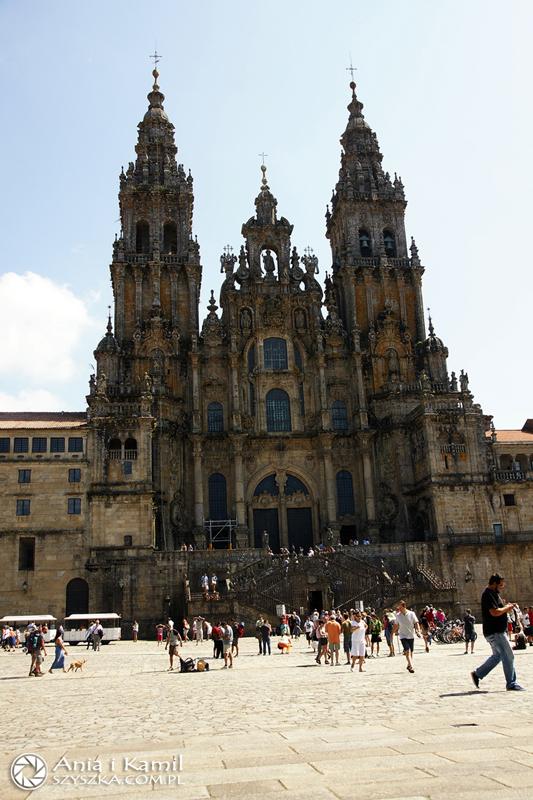 Cíl cesty: katedrála v Santiagu