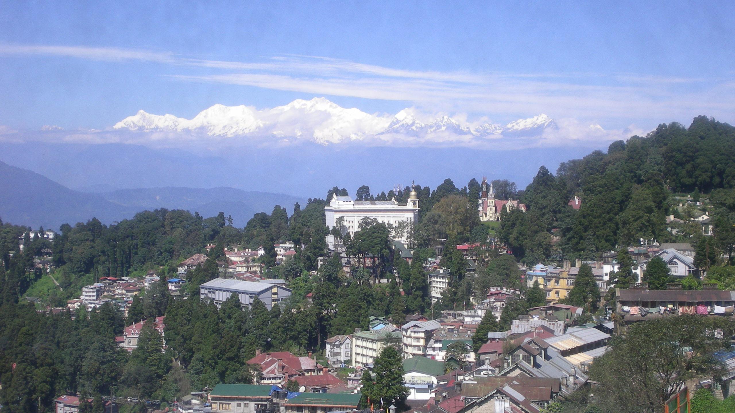 Město Darjeeling.