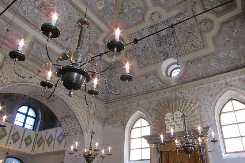 Interiér synagogy maior