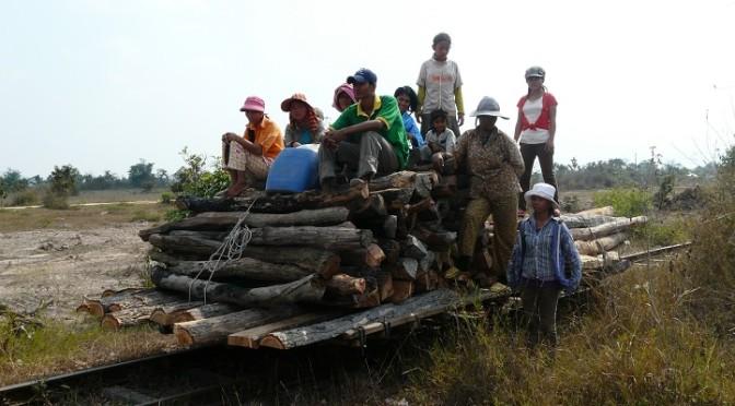 Norry – bambusový vlak, Kambodža